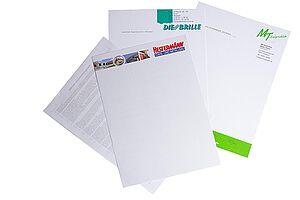 Beispiel Briefpapiere