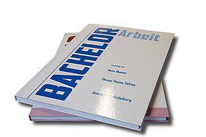 Hardcover mit bedrucktem Cover