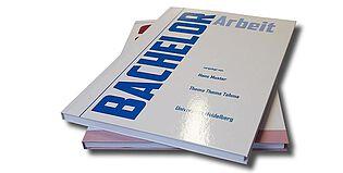 Diplomarbeit binden lassen - Soft- und Hardcover